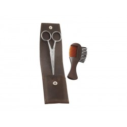 trousse moustache dovo marron