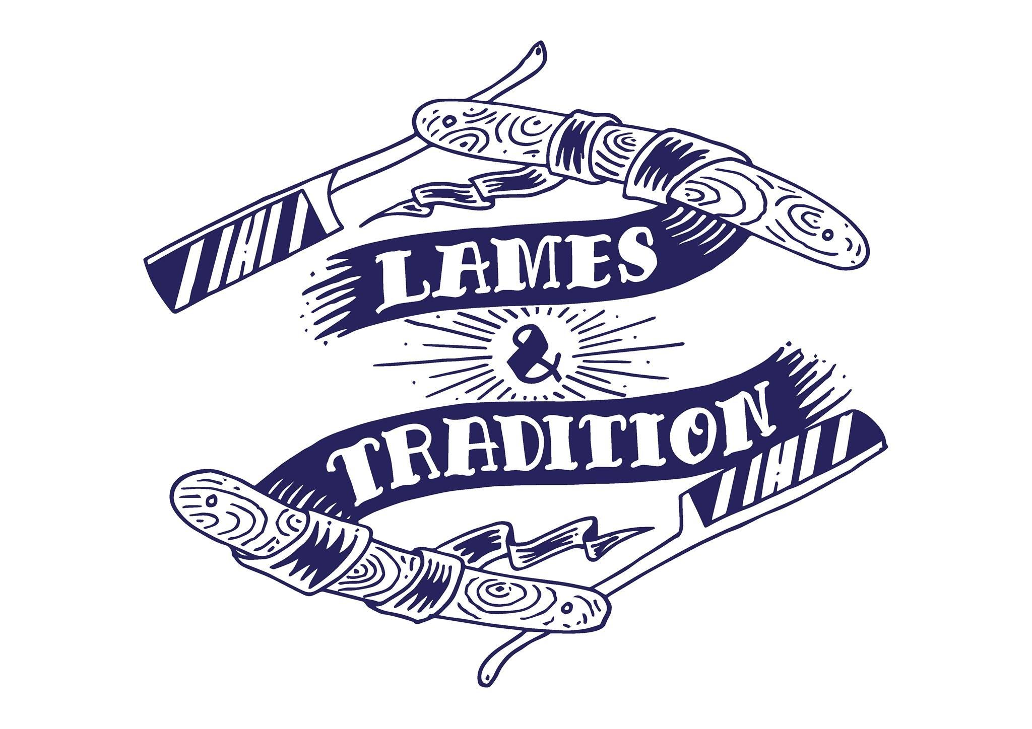 Logo Lames et Tradition : fabricant français de cosmétiques de rasage, bien-être de la peau et de la barbe